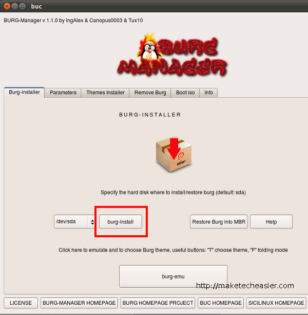 burg-manager-install