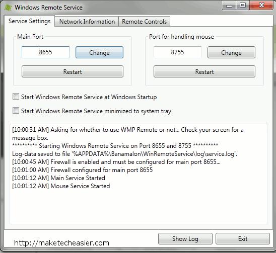 winremote-start-server