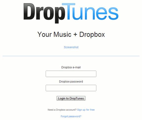 dropbox-droptunes