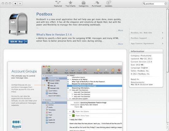 AppStore-Postbox