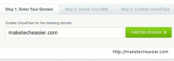 cloudflare-enter-domain-name
