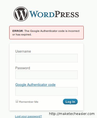 wp-google-authenticator-login