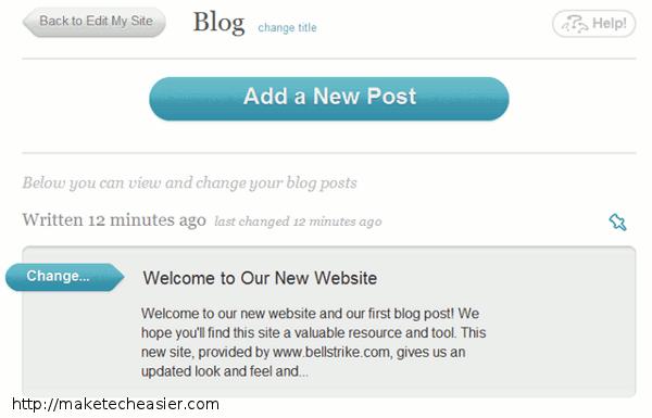 bellstrike-blog page