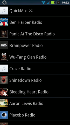 Best android apps 2011-pandora