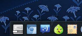 Icon tasks with progress action