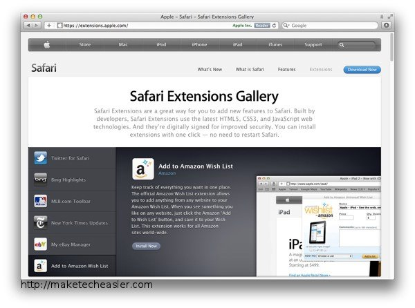 maximise-safari-extensions