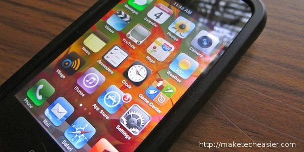 organize iphone home screen my setup