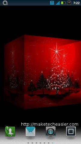 xmas wallpapers-3d christmas lights