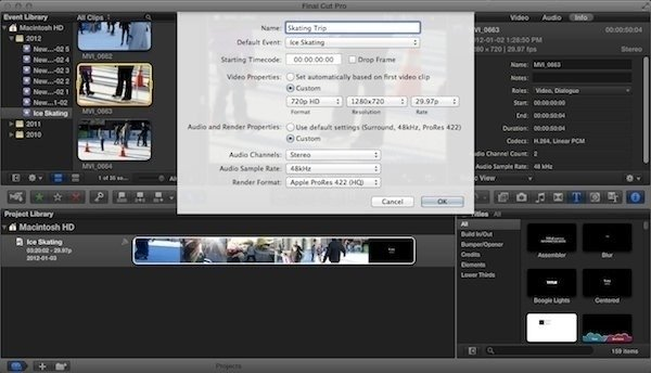FCPX-Creating-a-New-Project