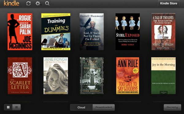 KIndleApp-Library