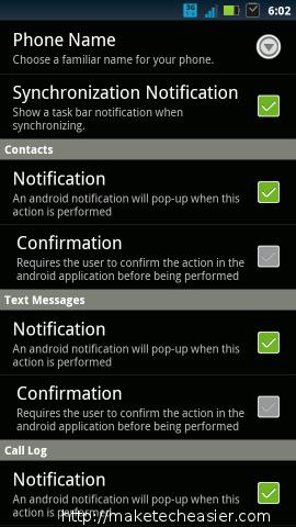 androidonweb-settings