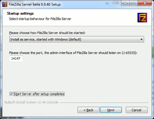 fileZilla-selecting-the-port