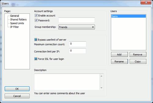 filezilla-creating-password