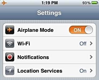 AirplaneMode-iPhone