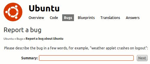 LinuxGreat-BugReport