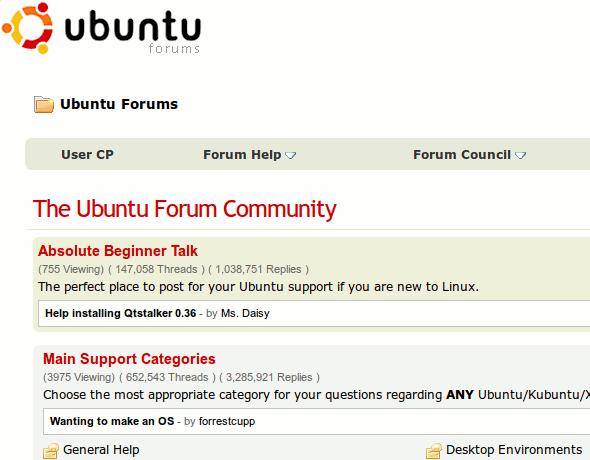 LinuxGreat-Forums