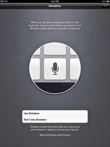 iPad3-Dictation