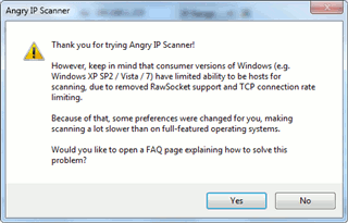 angry-ip-scanner connection limitation