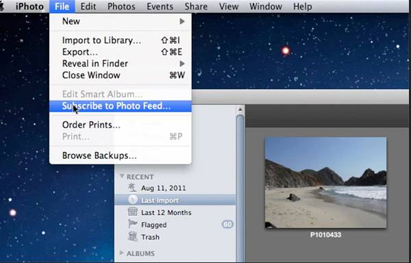 Dropmark for Mac iPhoto Integration