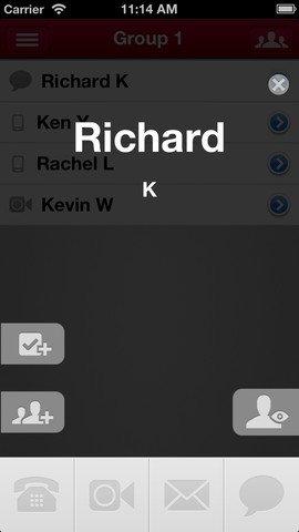 Buzz iOS Contact App