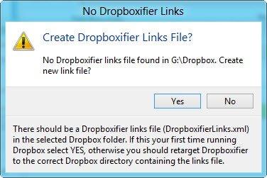 Dropboxifier links
