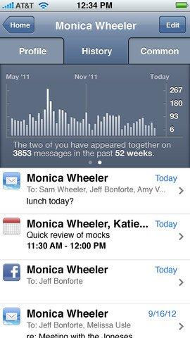 Smartr iOS Contacts App