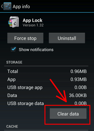 applock-clear-data