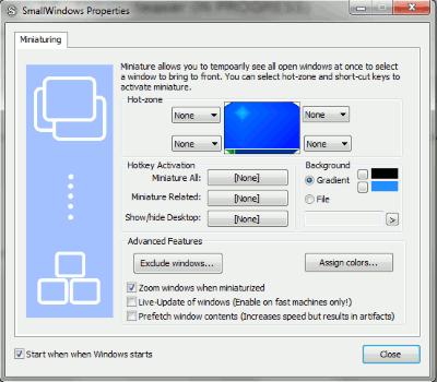 SmallWindows-Properties