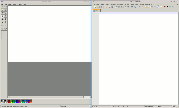 q4wine-notepad-mspaint