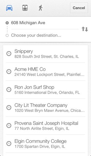 GoogleMaps-Search
