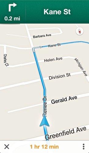 GoogleMaps-Turn