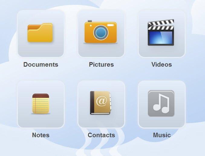cloudkafe-online-storage-categories