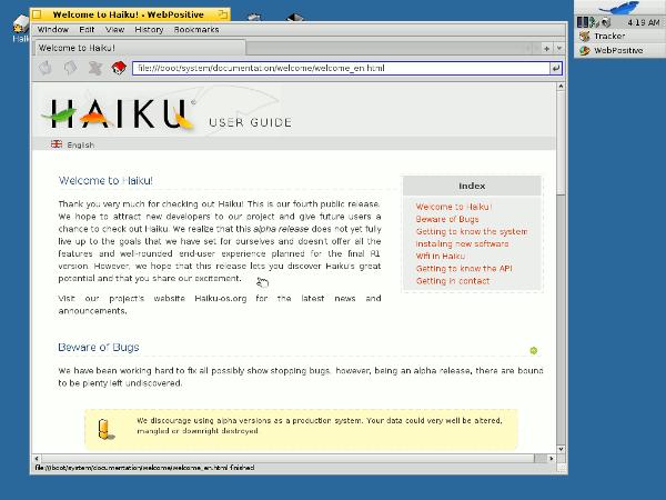 haiku-welcome