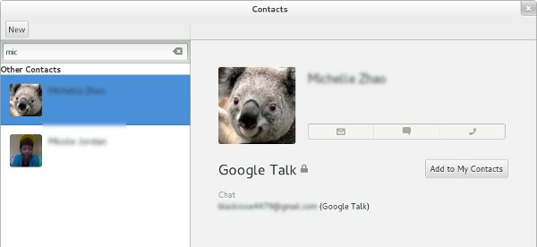 SearchingGNOME-Contacts