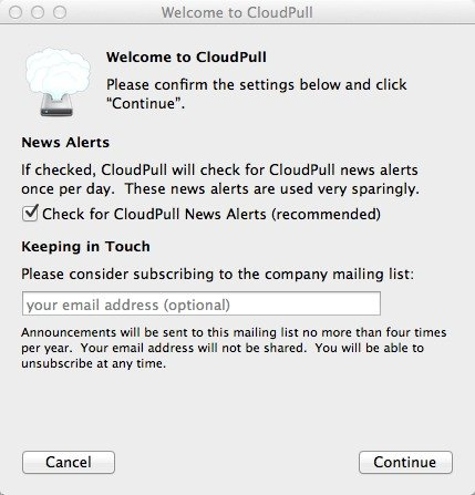 Welcome to CloudPull, subscribe to news alerts.
