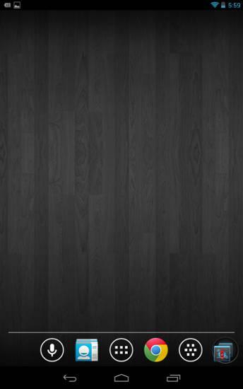 minimalist-android-black-wood