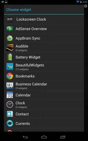 minimalist-android-widget-list