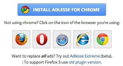 Get Adlesse extensions - it's free.