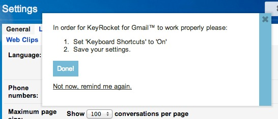 Make sure Keyboard Shortcuts are on in settings.
