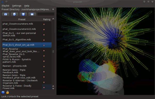 projectm-preset-browser