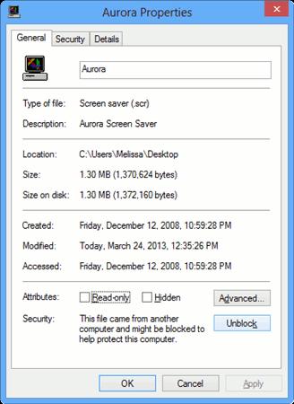 unblock-the-aurora-screen-saver