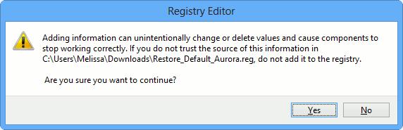 registry-warning