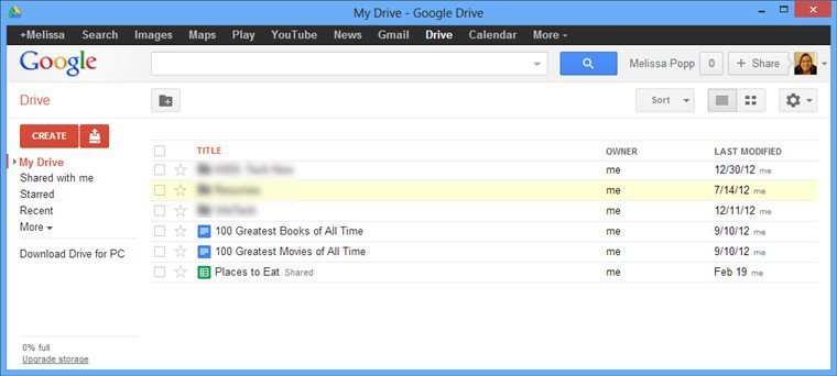 Integrate Google Apps to Windows8-google-app-opened-from-shortcut