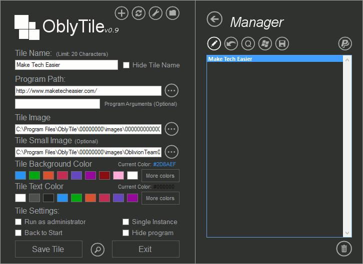 oblytile-manager