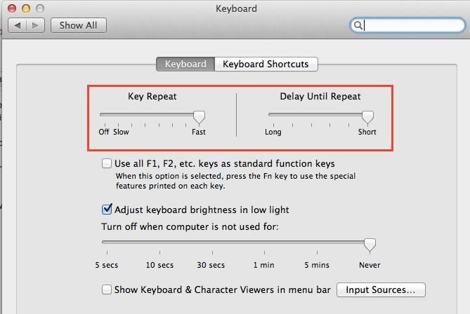 cursor-key-repeat-speed