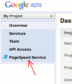 pagespeed-link-at-sidebar