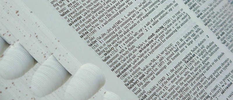 Dictionary tools for Google Chrome