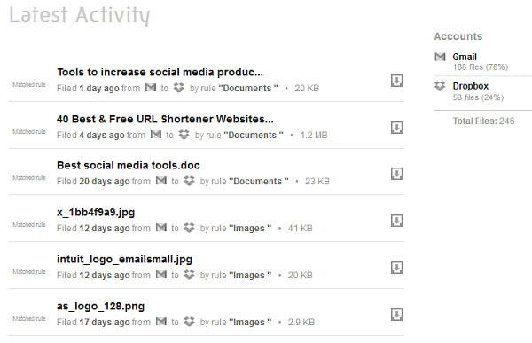 View your latest activity on Openera.
