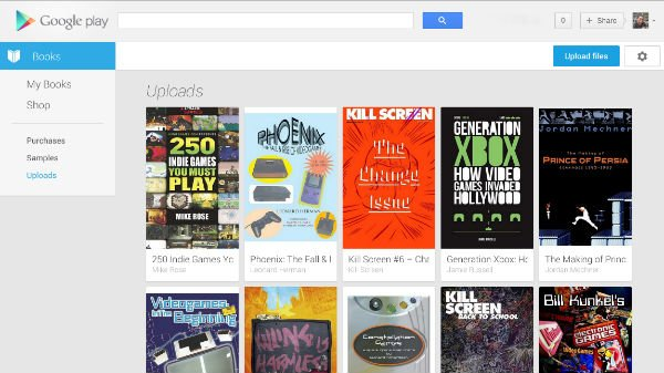 Use Google Play Books to read EPUB Books Online