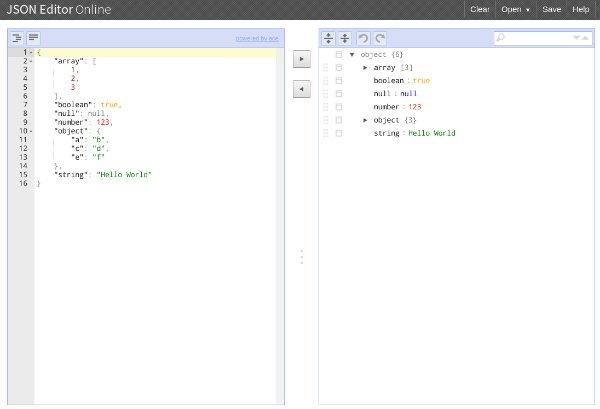 JSON Editor Chrome app